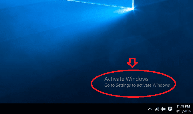 windows chưa active